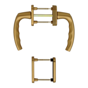 Hoppe atlanta aluminyum bronz renk kapı kolu