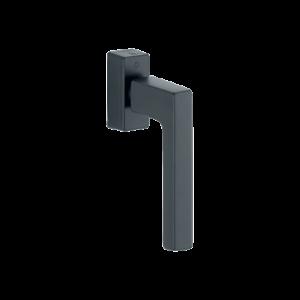 Hoppe austin aluminyum mat siyah renk pencere kolu