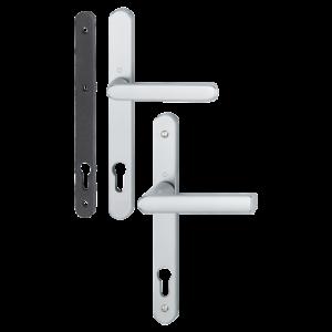 Hoppe hamburg aluminyum gümüş renk kapı kolu