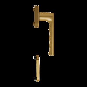 Hoppe hamburg aluminyum bronz renk kapı kolu