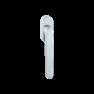 Hoppe luxembourg aluminyum gümüş renk pencere kolu
