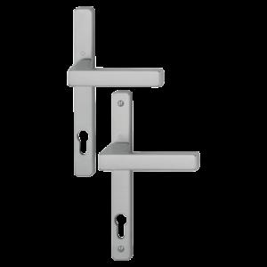 Hoppe toulon aluminyum gümüş renk kapı kolu