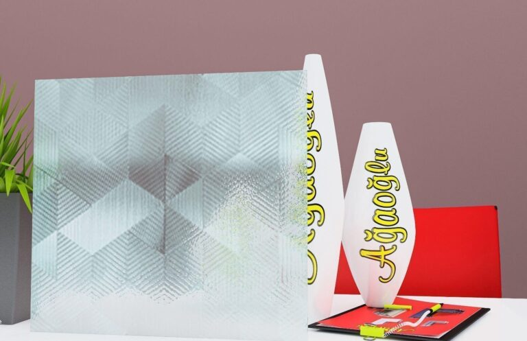 Puzzle Dekoratif Buzlu Cam