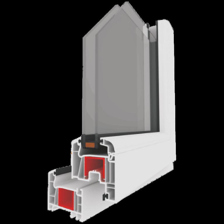 WinLIFE 70mm PVC pencere ve kapı sistemi