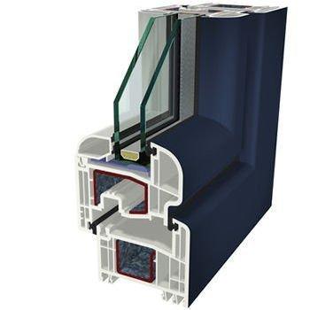Blu Ral 5011 Folyo Kaplama Agaoglu WinLIFE Gealan Pvc Pencere Kapi Sistemleri