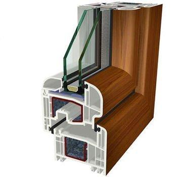 Ciliegio Folyo Kaplama Agaoglu WinLIFE Gealan Pvc Pencere Kapi Sistemleri
