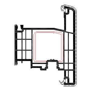 Disa Acilim Pvc Kapi Profili Agaoglu Egepen Deceuninck Gealan PVC pencere kapi sistemleri
