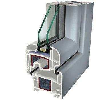 Grigio Ral 7001 Folyo Kaplama Agaoglu WinLIFE Gealan Pvc Pencere Kapi Sistemleri