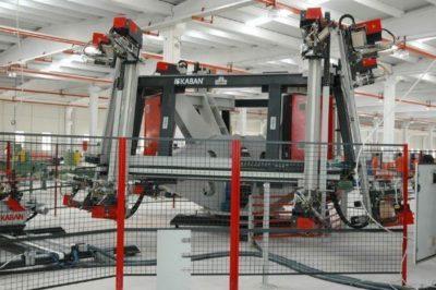 İletişim pvc kaynak robotu Agaoglu Fabrika iç Gorunum WinLIFE Gealan Pvc Pencere Kapi Sistemleri