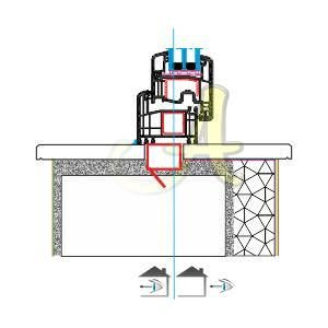 İngiltere england en disa acilir pencere montaj profili Agaoglu Egepen Deceuninck Gealan PVC pencere kapi sistemleri