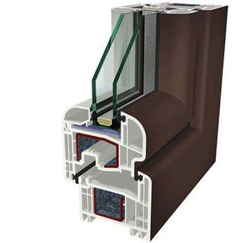 Marrone Ral 8017 Folyo Kaplama Agaoglu WinLIFE Gealan Pvc Pencere Kapi Sistemleri