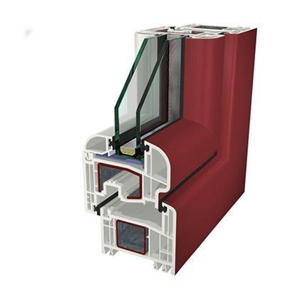 Ral3011 Folyo Kaplama Acrylcolor Agaoglu WinLIFE Gealan Pvc Pencere Kapi Sistemleri