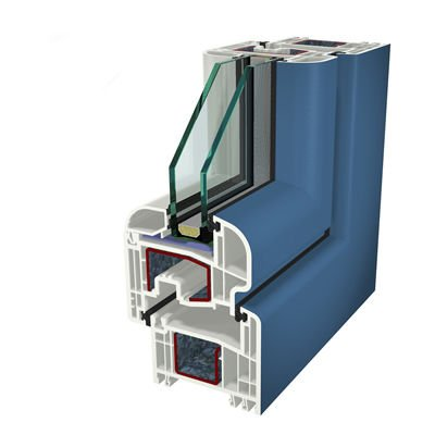 Ral5007 Folyo Kaplama Acrylcolor Agaoglu WinLIFE Gealan Pvc Pencere Kapi Sistemleri