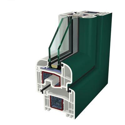 Ral6005 Folyo Kaplama Acrylcolor Agaoglu WinLIFE Gealan Pvc Pencere Kapi Sistemleri