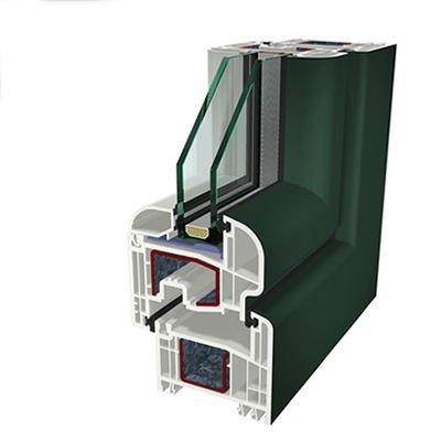 Ral6009 Folyo Kaplama Acrylcolor Agaoglu WinLIFE Gealan Pvc Pencere Kapi Sistemleri