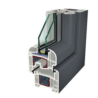 Ral7015 Folyo Kaplama Acrylcolor Agaoglu WinLIFE Gealan Pvc Pencere Kapi Sistemleri