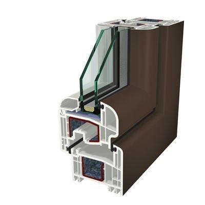 Ral8014 Folyo Kaplama Acrylcolor Agaoglu WinLIFE Gealan Pvc Pencere Kapi Sistemleri