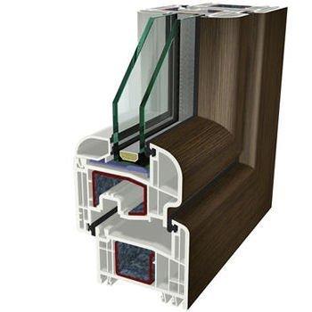 Rovere rustico Folyo Kaplama Agaoglu WinLIFE Gealan Pvc Pencere Kapi Sistemleri