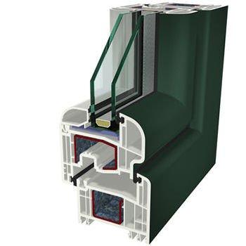Verde Ral 6009 Folyo Kaplama Agaoglu WinLIFE Gealan Pvc Pencere Kapi Sistemleri